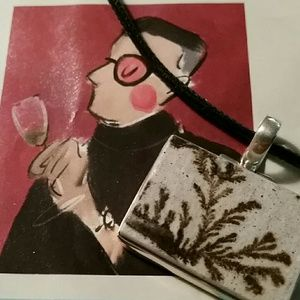 Jewelry - Psilomelane Dendrite necklace